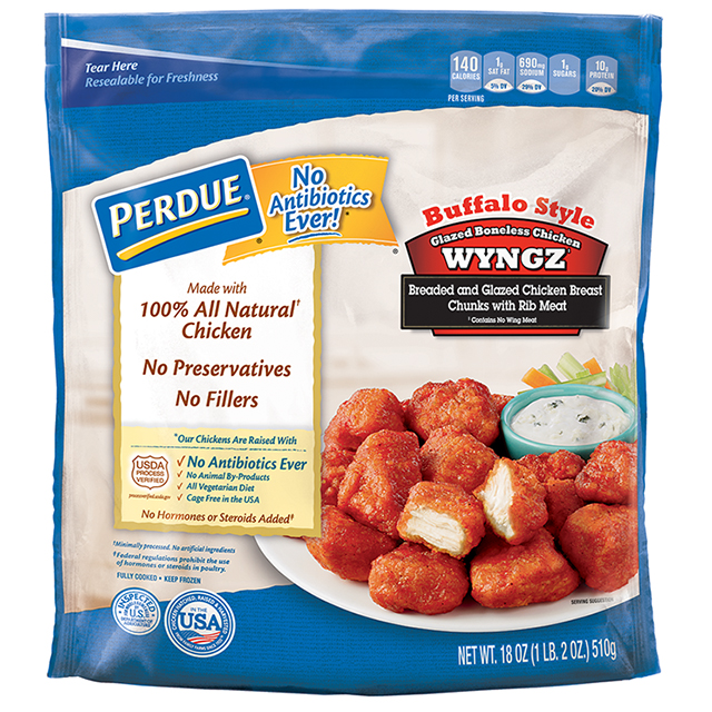 PERDUE® Buffalo Style Boneless Chicken Wyngz (18 oz.)