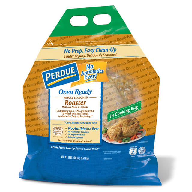 PERDUE® Oven Ready Whole Seasoned Roaster (6 lbs.)
