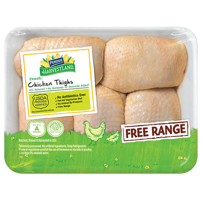 Free Range Chicken Thighs
