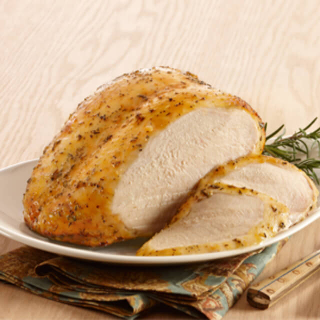 Oven Ready Whole Seasoned Roaster Bone-In Breast (3 lbs.)