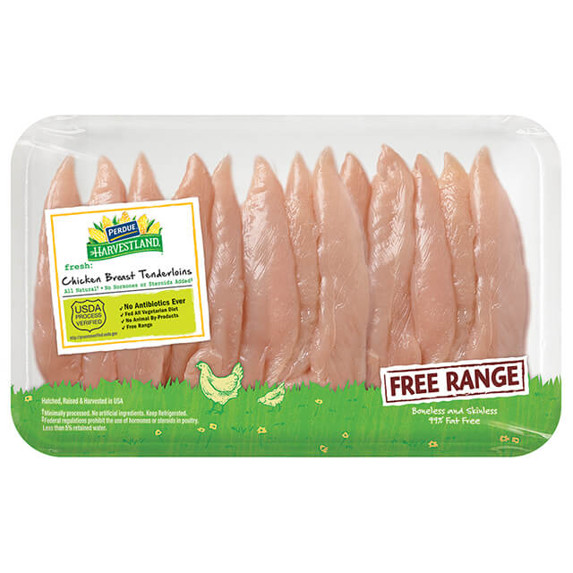 Free Range Chicken Breast Tenderloins, Family Pack