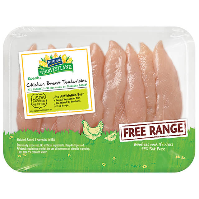 PERDUE® HARVESTLAND® Free Range Chicken Breast Tenderloins