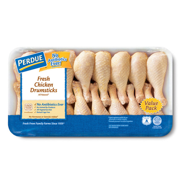 PERDUE® Fresh Chicken Drumsticks, Jumbo Pack