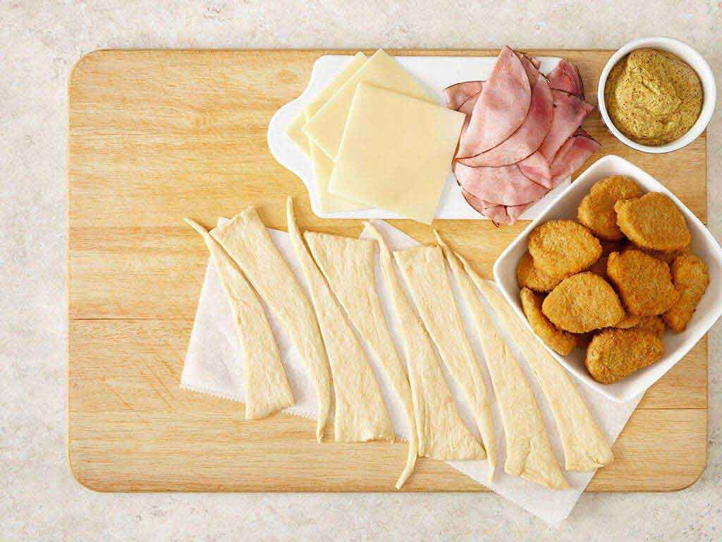 Chicken Cordon Bleu Party Sandwiches Video