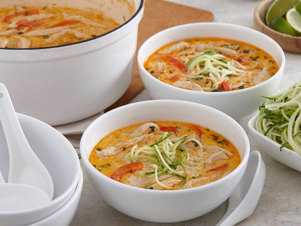 Easy Thai Coconut Chicken Soup PERDUE®