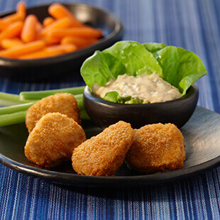 Buffalo Blue Cheese Nuggets