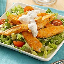 Buffalo Chicken Salad and Blue Cheese