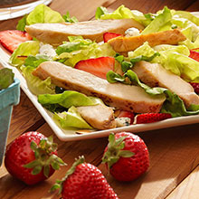Southern Chicken Salad with Strawberries