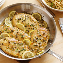 Quick and Simple Chicken Piccata