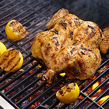 Easy Mediterranean Grilled Chicken