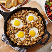 Hearty Apple Chicken Breakfast Skillet