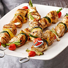 Lemon Oregano Chicken Kebabs