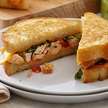 Chicken Grilled Cheese Tacos
