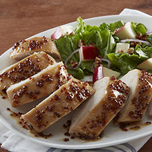 3-Ingredient Brown Sugar and Mustard Chicken Breasts