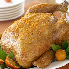 Orange Ginger Roast Chicken