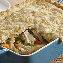 Chicken and Artichoke Pot Pie