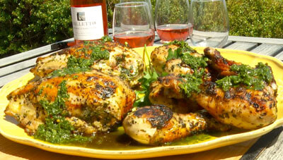 Chimichurri Marinated Chicken
