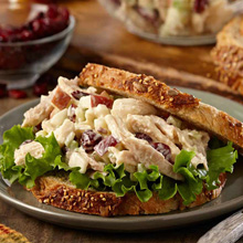 Apple Cran Chicken Salad Sandwich