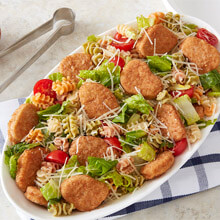 Whole Grain Nuggets Caesar Pasta Salad