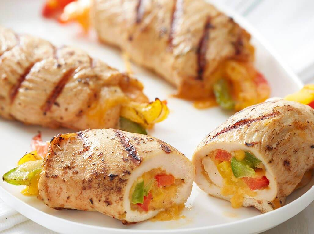 Grilled Chicken Fajita Roll Ups Perdue 174