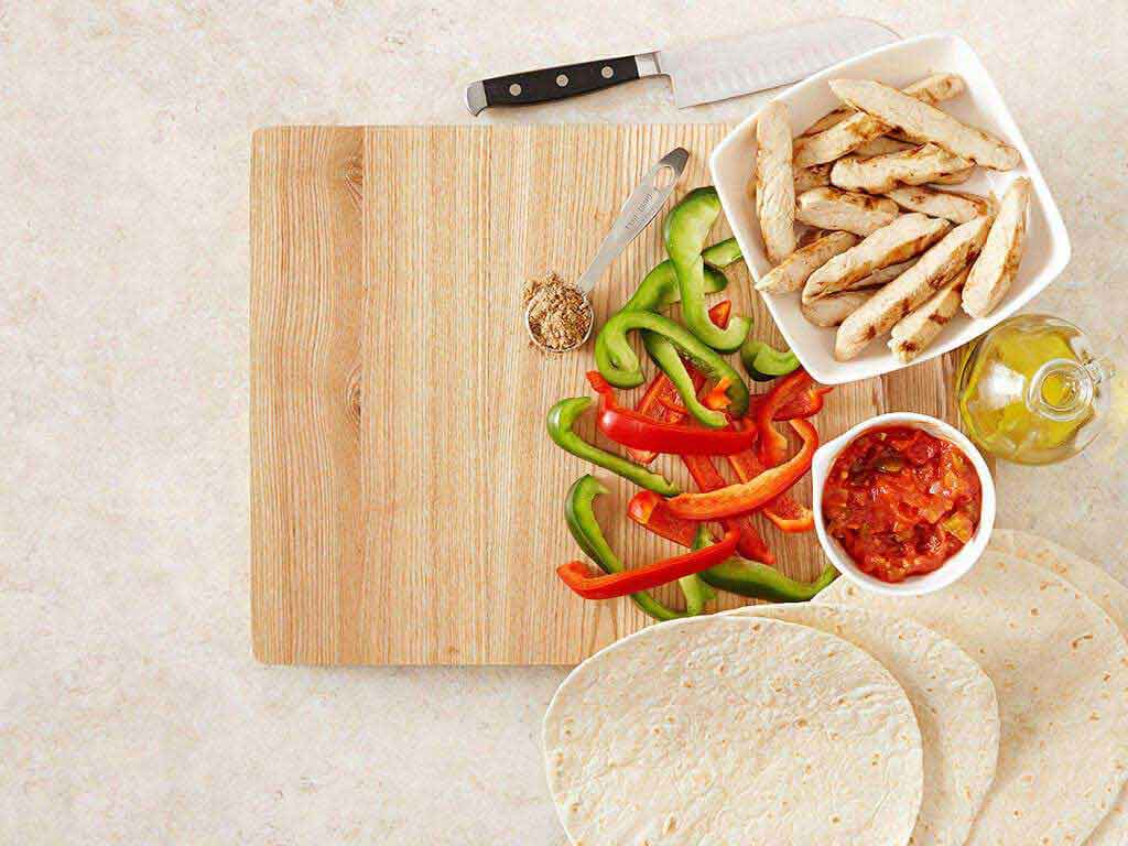 Super Easy Chicken Fajitas Video