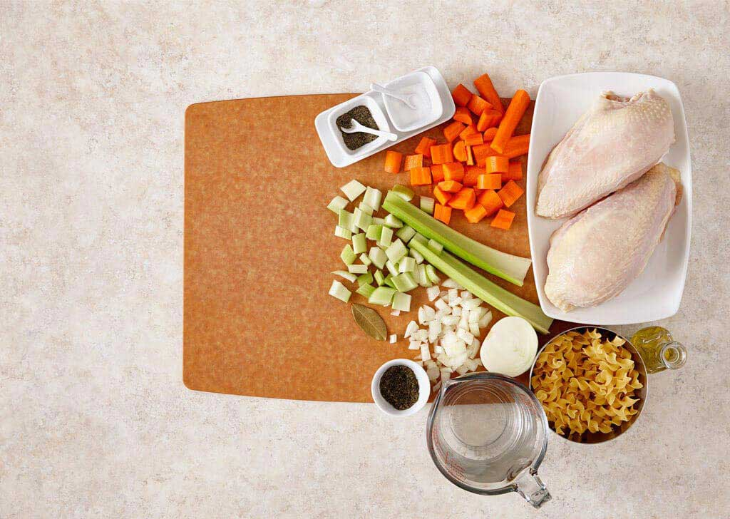 Slow Cooker Chicken Noodle Soup Video