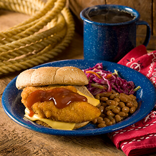Chuck Wagon Chicken Sandwiches
