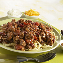 Cincinnati Chili with Beans