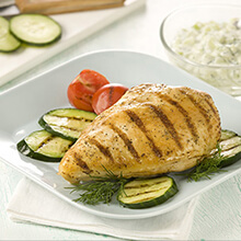 Cool Cucumber Chicken