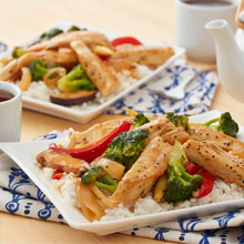 Easy Orange Chicken Strip Stir-Fry