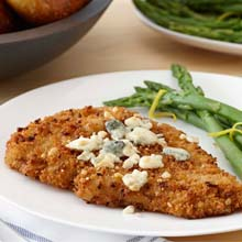 Herb Chicken Breast With Blue Cheese & Asparagus