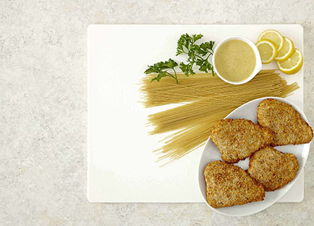 Parmesan & Herb Chicken Breast Piccata Meal Video