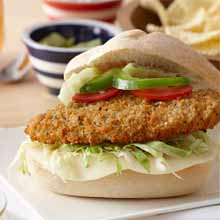Parmesan & Herb Breaded Chicken Breast Hoagie