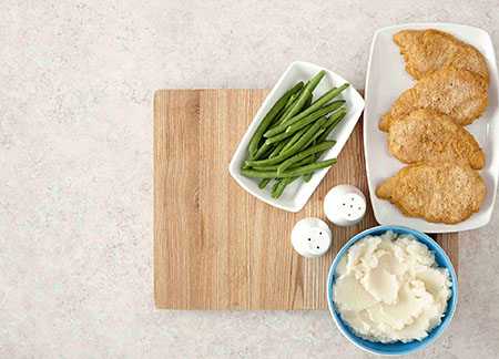 Southern Fried Chicken Breast Dinner Video