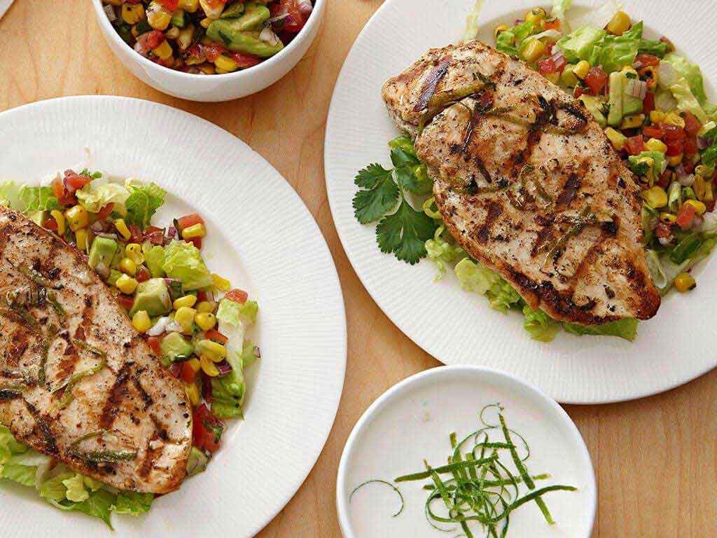 Grilled Cilantro Lime Chicken With Corn Salsa | PERDUE®