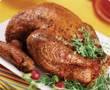 Herb Rubbed Deep Fried Turkey Perdue 174