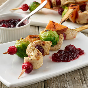 Holiday Chicken Skewers