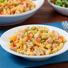 Jerk Chicken Pasta Salad