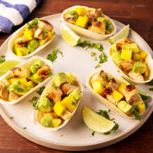 Key West Chicken Taco Cups