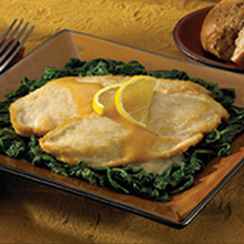 Lemon-Garlic Scallopini