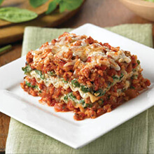 Light Lasagna Florentine