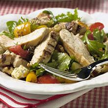Orange Balsamic Chicken Salad