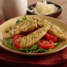 Pesto Grilled Chicken Tenders