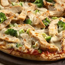 Hearty Chicken Pizza