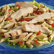 Simple Chicken Pasta Salad