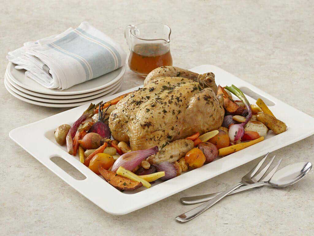 Roasted Chicken And Root Vegetables Perdue 174