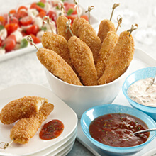 Gluten Free Big Flavor Chicken Dippers