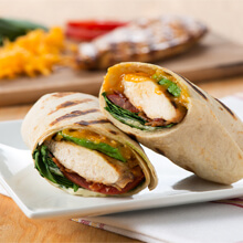Grilled California Chicken Wrap