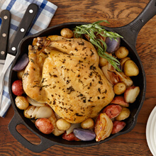 Tarragon Skillet Chicken And Potatoes