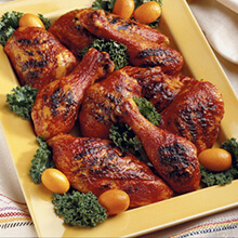 Spicy Chicken with Apricot Glaze